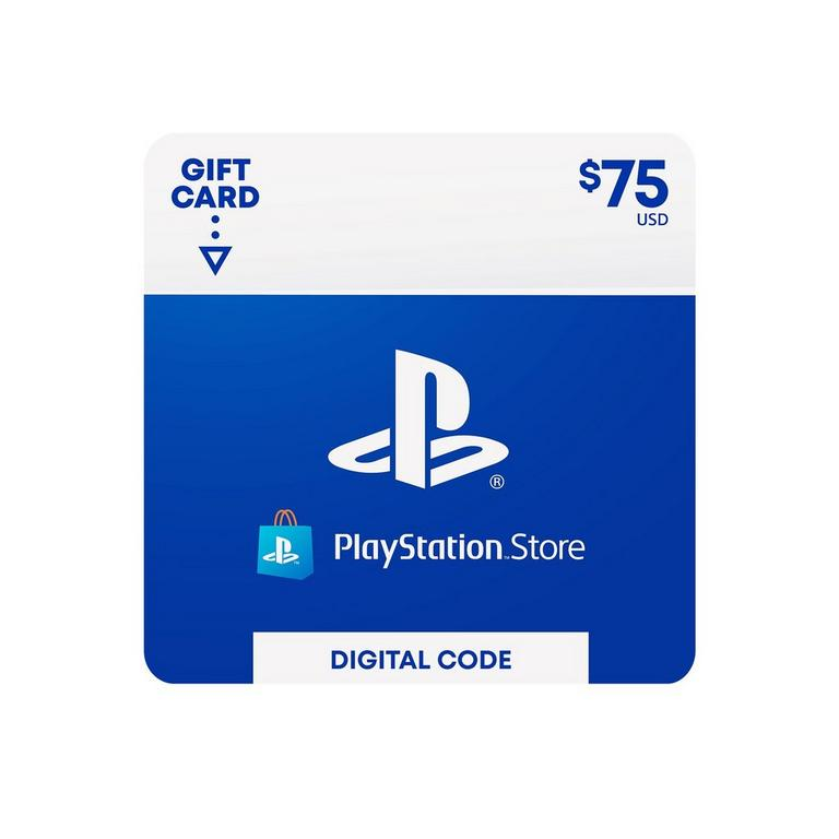 Sony Computer Entertainment Digital PlayStation Store Gift Card $75 PS4 Download Now At GameStop.com!
