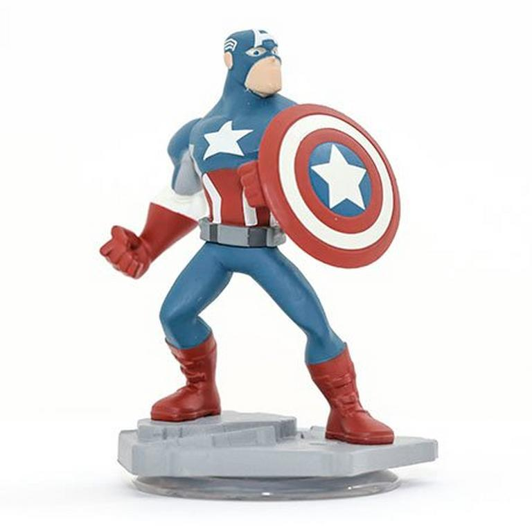 Disney INFINITY: Marvel Super Heroes (2.0 Edition) - Captain America Figure