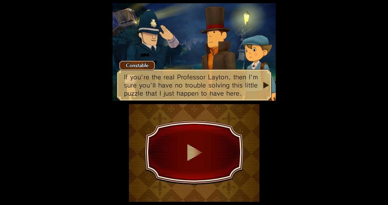 Professor Layton VS. Phoenix Wright Ace Attorney