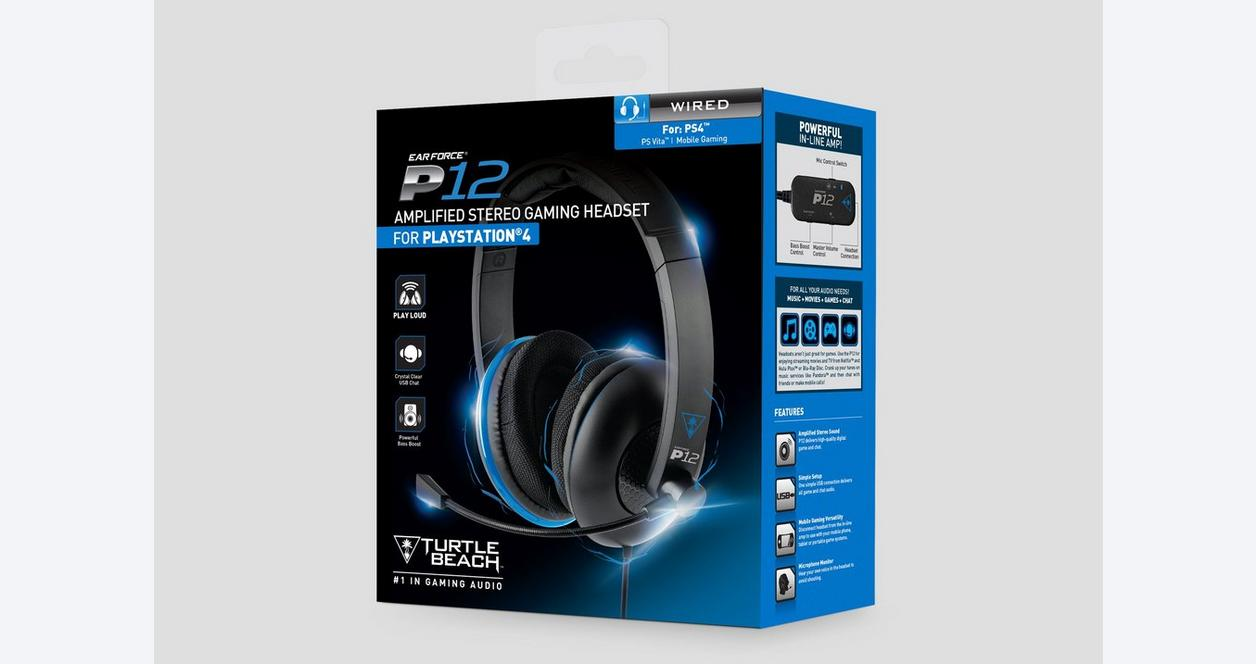 PlayStation 4 Ear Force P12 Wired Gaming Headset