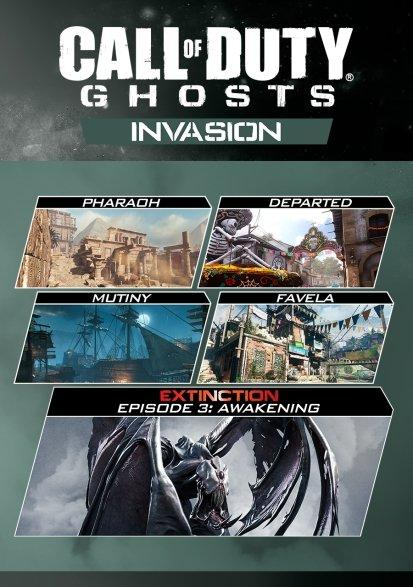 Call Of Duty Ghosts Invasion Map Pack Pc Gamestop