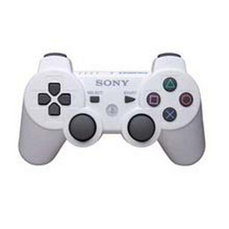 Sony DUALSHOCK 3 White Wireless Controller