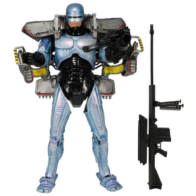 NECA Robocop Deluxe Scale Figure with Jetpack and Assault Cannon