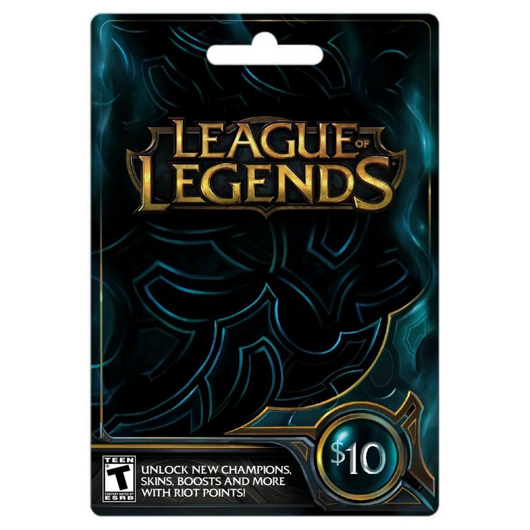 InComm League of Legends $10 Game Card PC Available At GameStop Now!