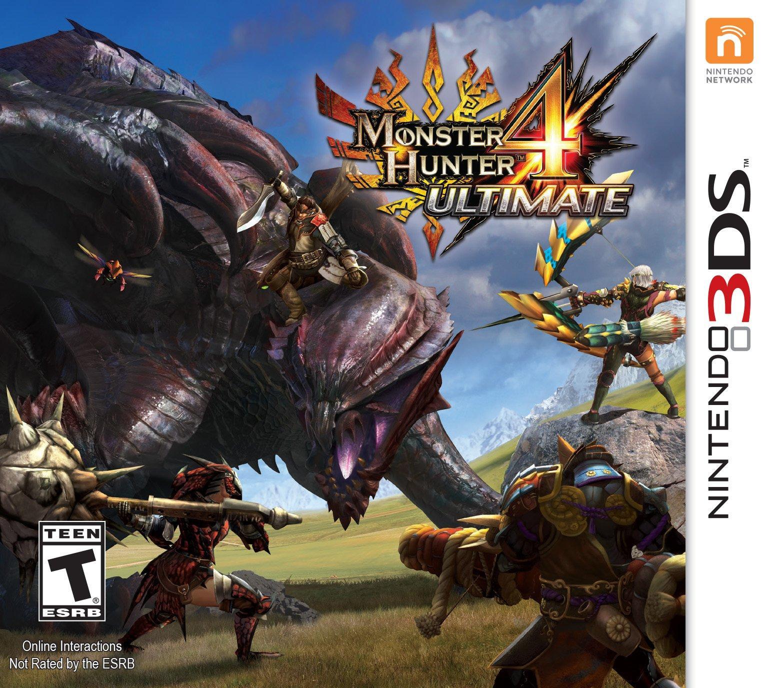 Monster Hunter 4 Ultimate Nintendo 3ds Gamestop