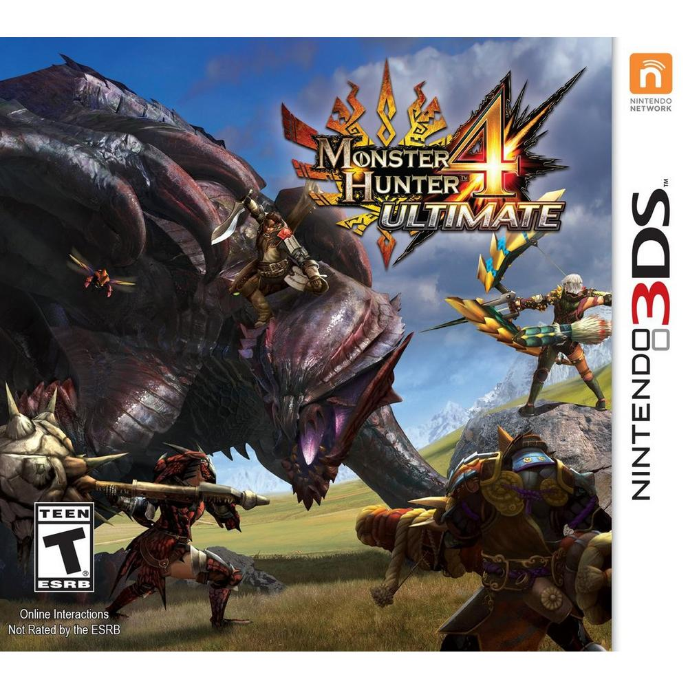 Monster Hunter 4 Ultimate | Nintendo 3DS | GameStop