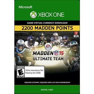 Madden NFL 15 Ultimate Team 2200 Points