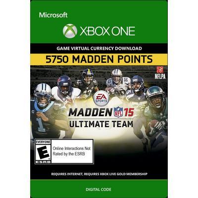Madden NFL 15 Ultimate Team 5750 Points