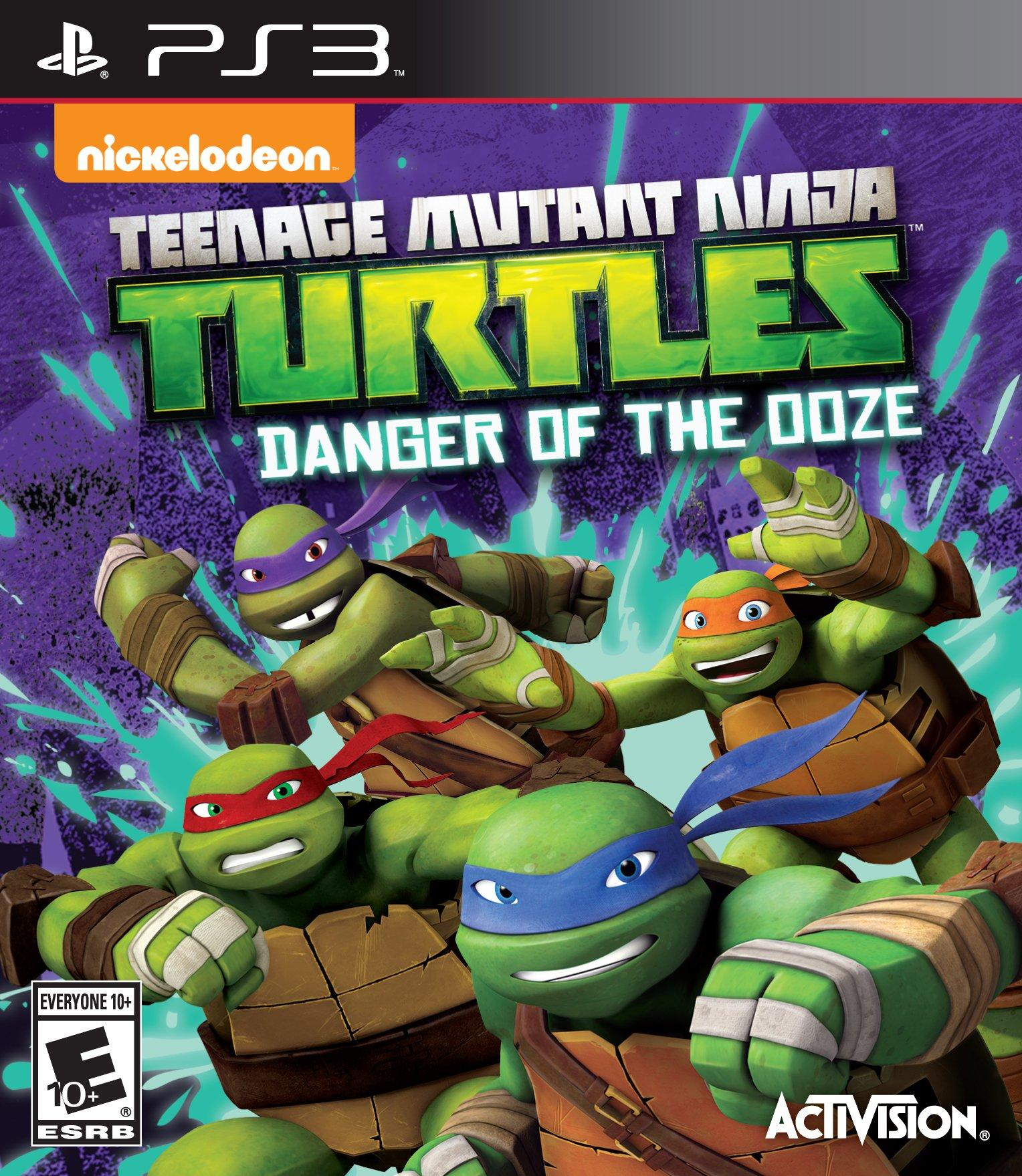 Teenage Mutant Ninja Turtles Danger Of The Ooze Playstation 3 Gamestop