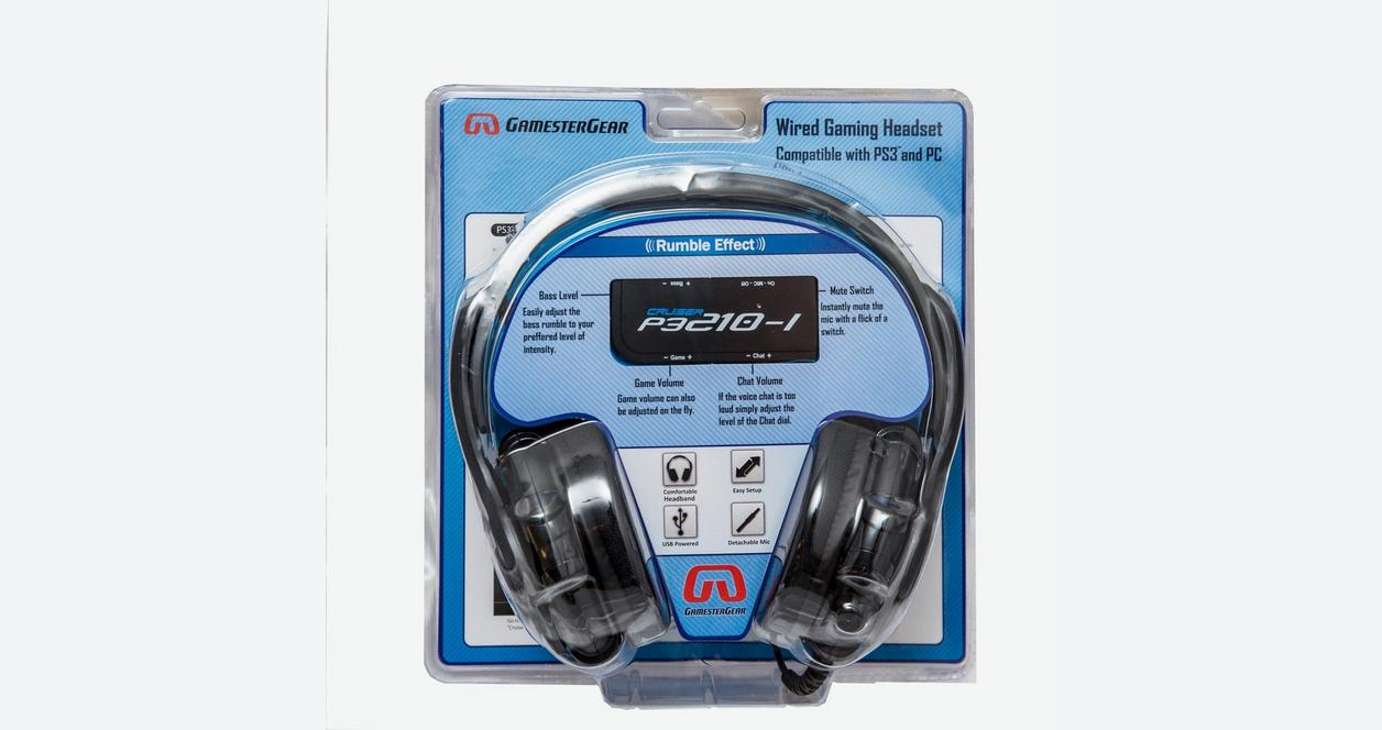 GamesterGear Cruiser P3210-I Wired Gaming Headsets