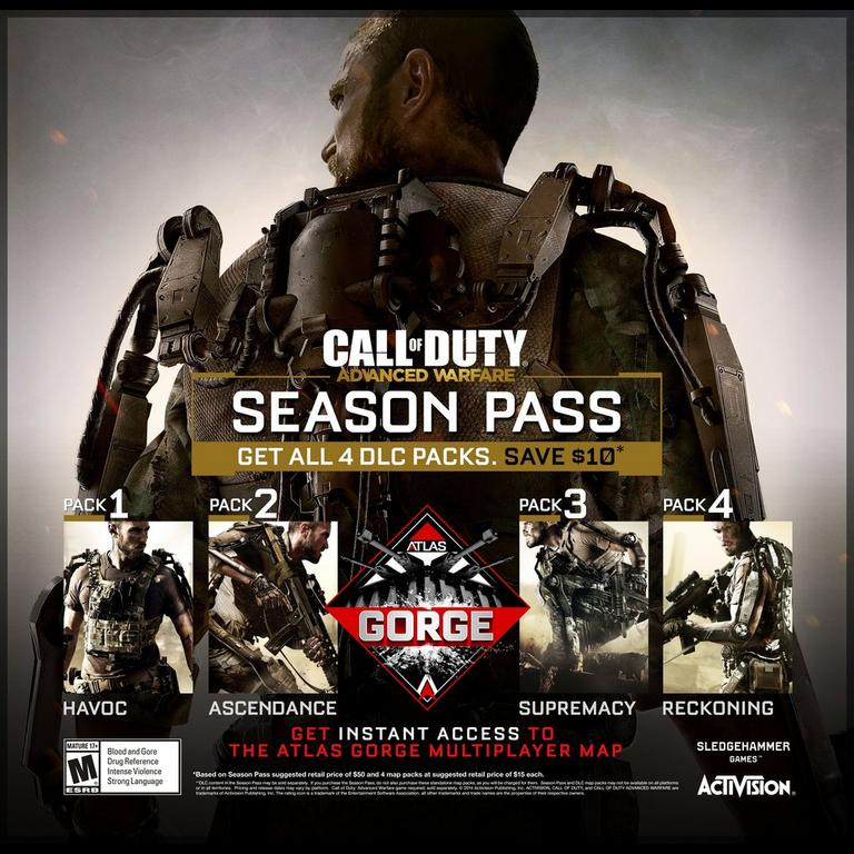 Call Of Duty Advanced Warfare Season Pass Pc Gamestop