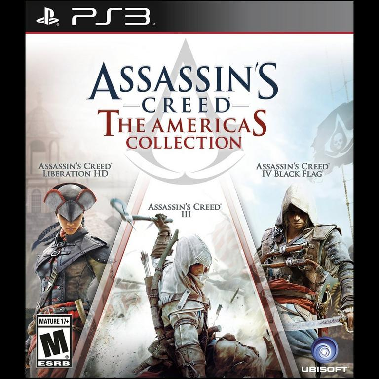 Assassin S Creed The Americas Collection Playstation 3 Gamestop