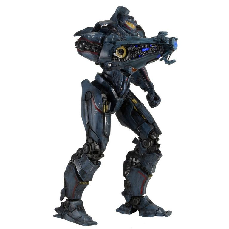 Pacific Rim - Battle Damaged Gipsy Danger with Light-up Plasma Cannon Arm 18 inch Scale Action Figure