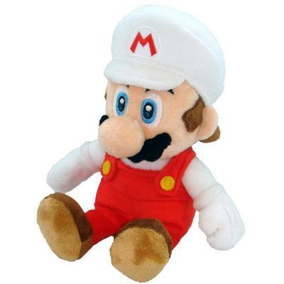 Fire Mario 8 Inch Plush