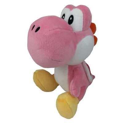 Super Mario Pink Yoshi 6 inch Plush