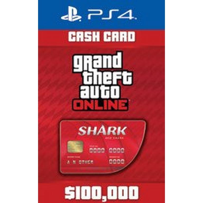 Grand Theft Auto Online: The Red Shark Cash Card