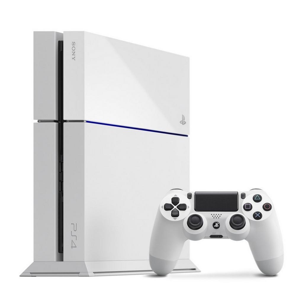 f01212e5ca8ba PlayStation 4 500GB - White | PlayStation 4 | GameStop
