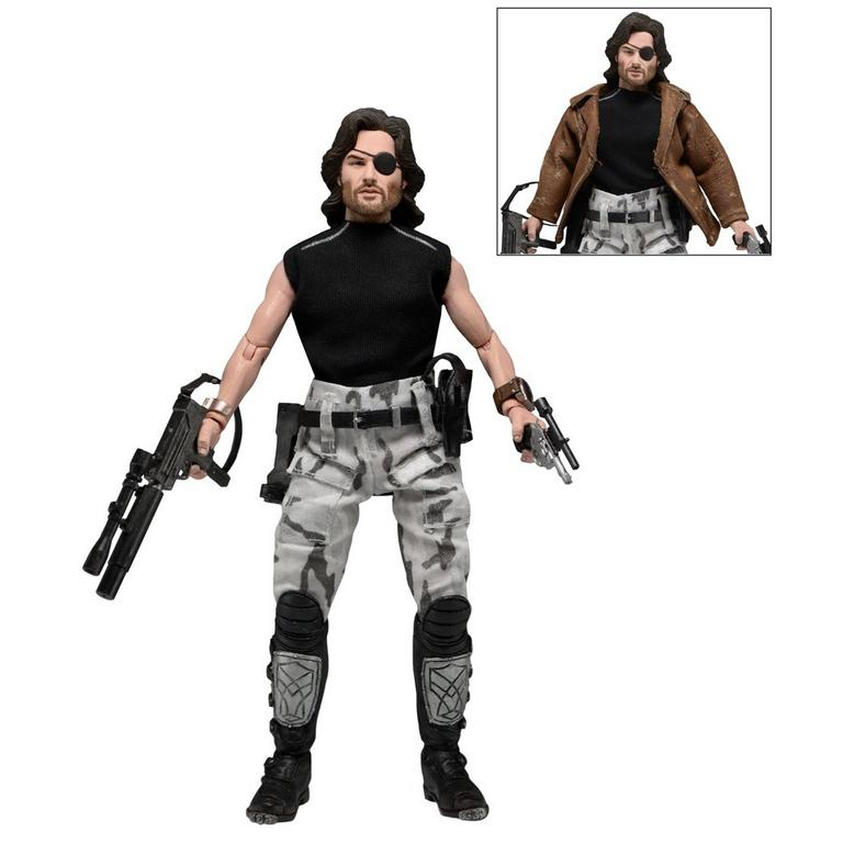 Escape from New York Snake Plissken Retro Clothed Action Figure