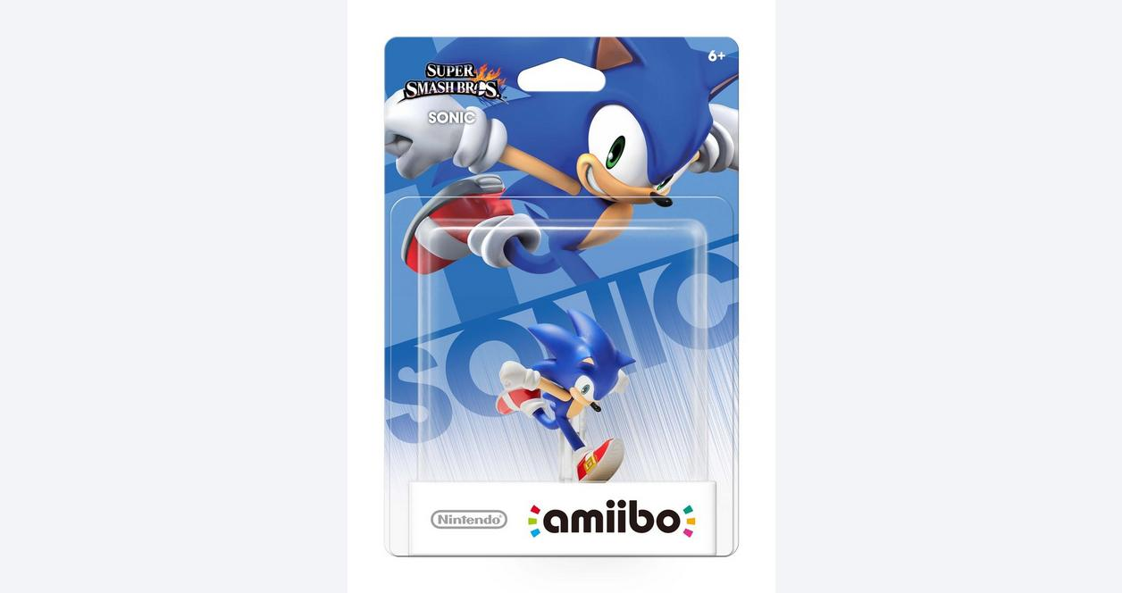 Super Smash Bros. Sonic amiibo