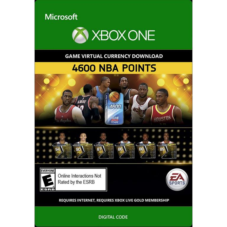 NBA Live Ultimate Team 4,600 Points