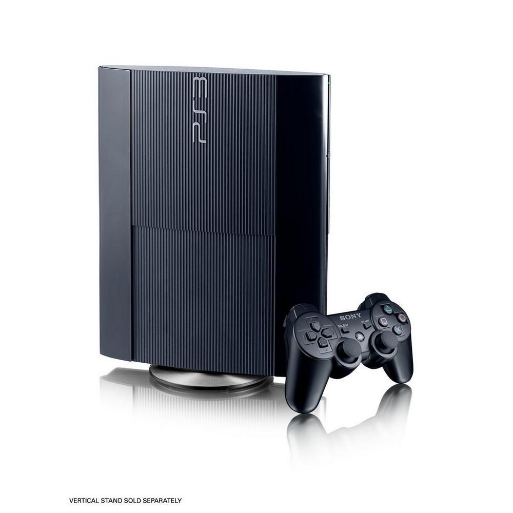 PlayStation 3 500GB Black System   PlayStation 3   GameStop