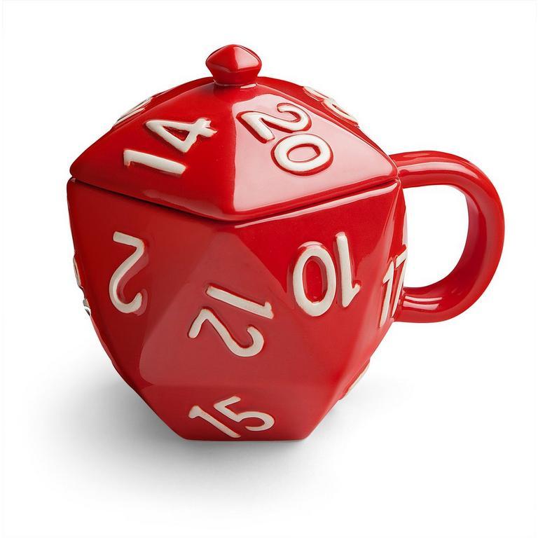 Critical Hit D20 Mug - By ThinkGeek