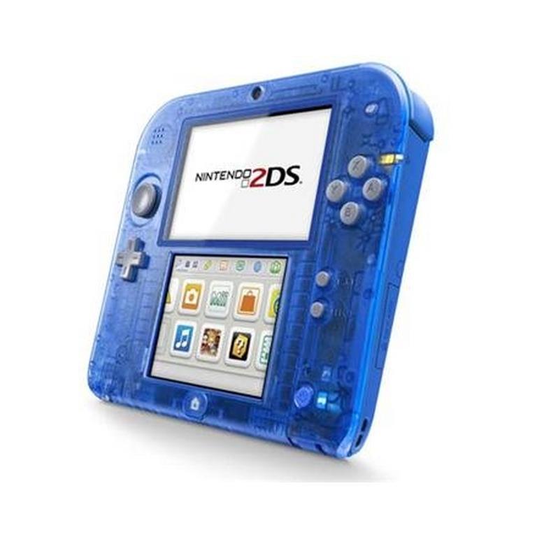 Nintendo 2DS Crystal Blue (GameStop Premium Refurbished)