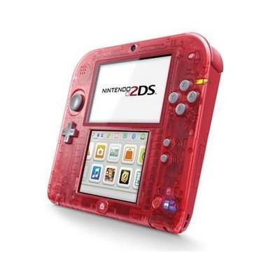 Nintendo 2DS Crystal Red (GameStop Premium Refurbished)