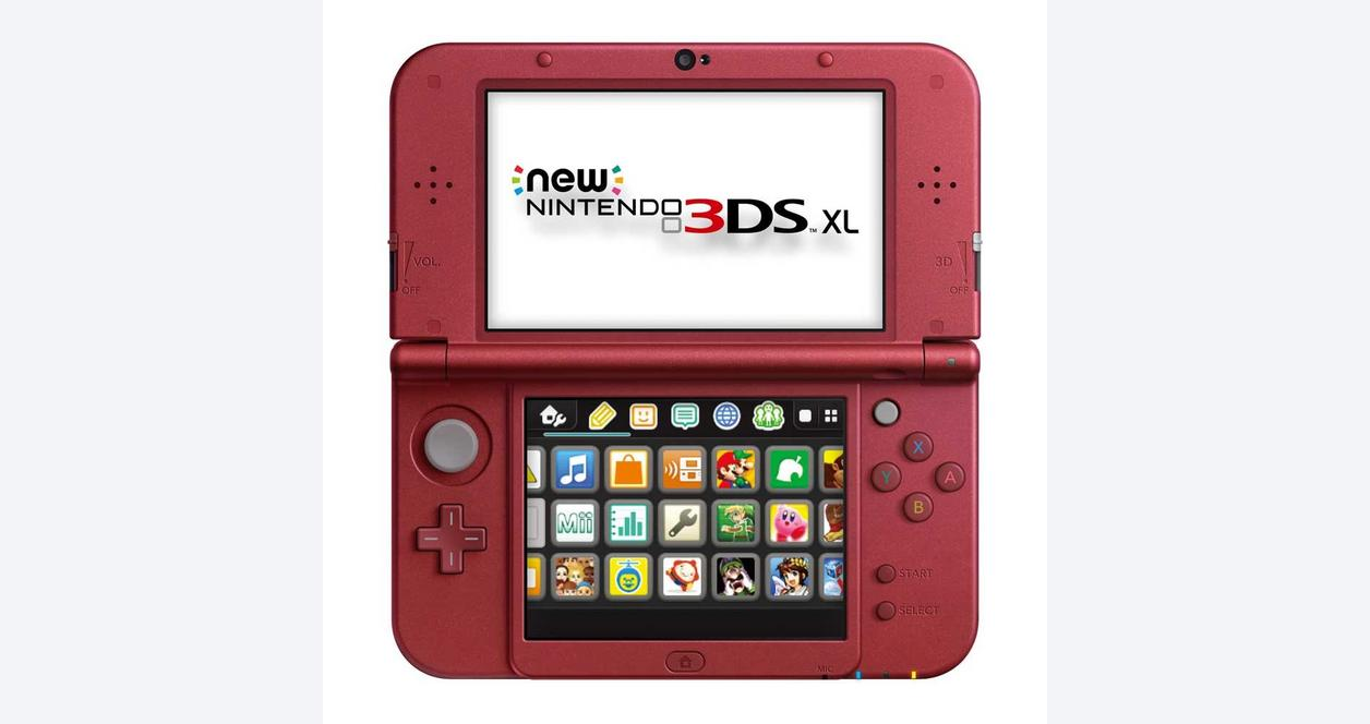 New Nintendo 3DS XL Red