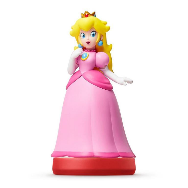 Peach Super Mario amiibo Figure