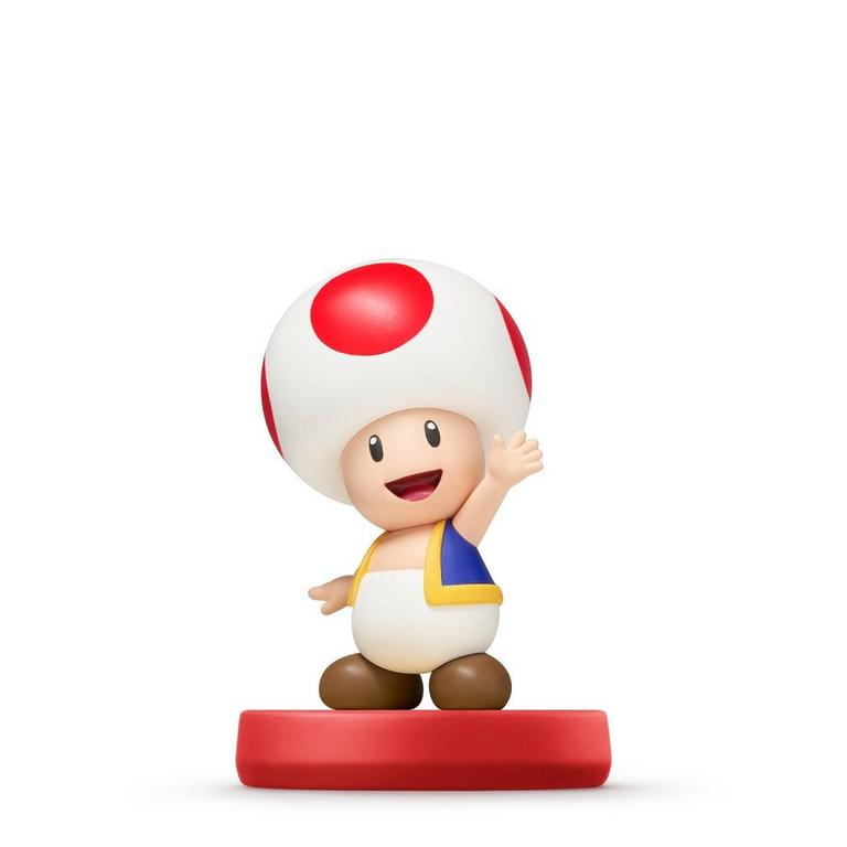 Toad Super Mario amiibo Figure