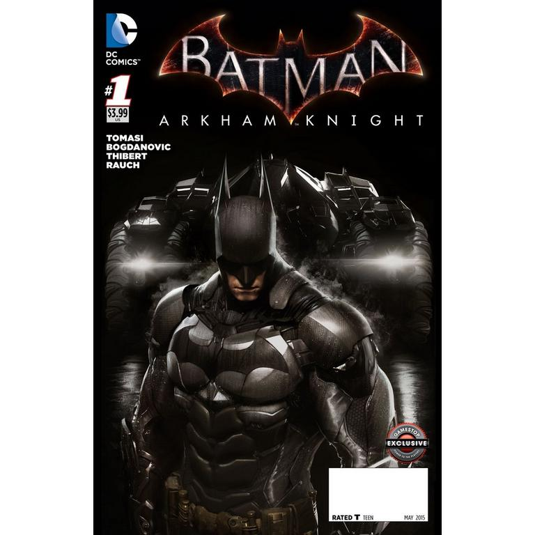 Batman Arkham Knight Comic Issue 1 - GameStop Variant - Only at GameStop