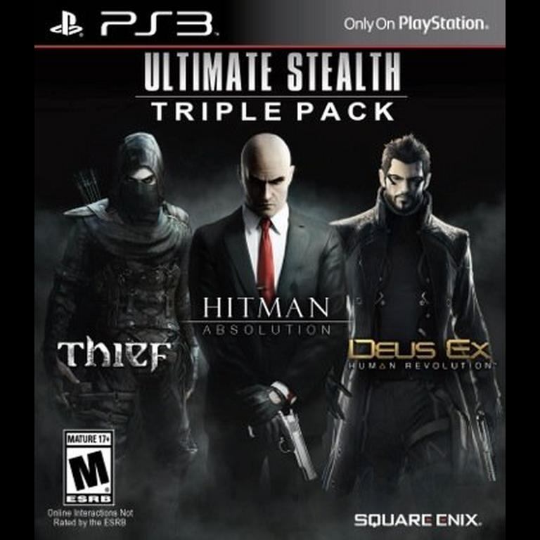 Ultimate Stealth Triple Pack Playstation 3 Gamestop