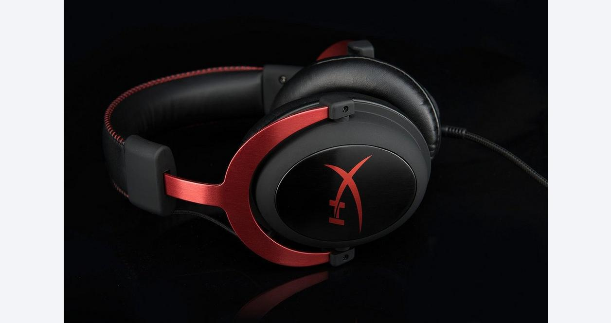 HyperX Cloud II Pro Gaming Red Wired Headset