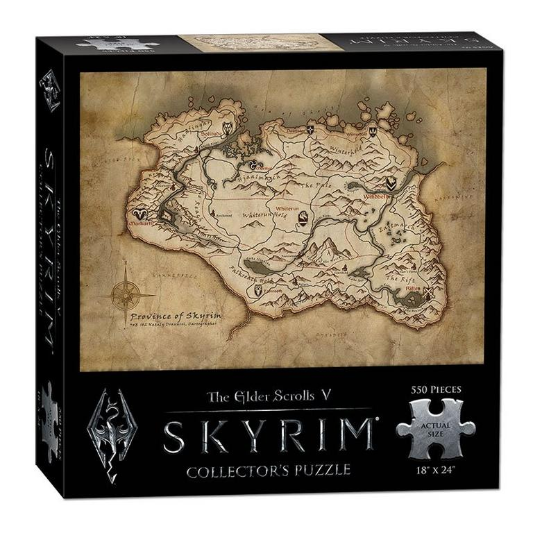 The Elder Scrolls V: Skyrim Collector's Puzzle - Only at GameStop