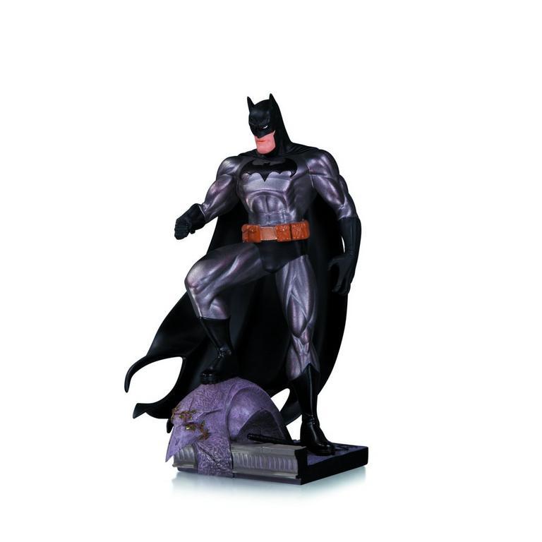 Batman Metallic Statue by Jim Lee
