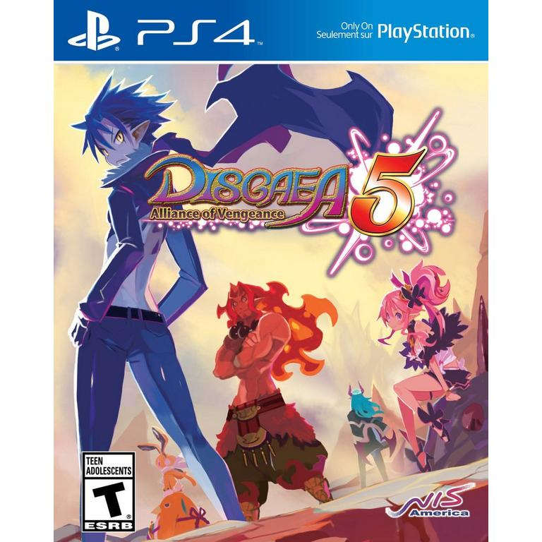 NIS America Disgaea 5: Alliance of Vengeance PS4 Available At GameStop Now!