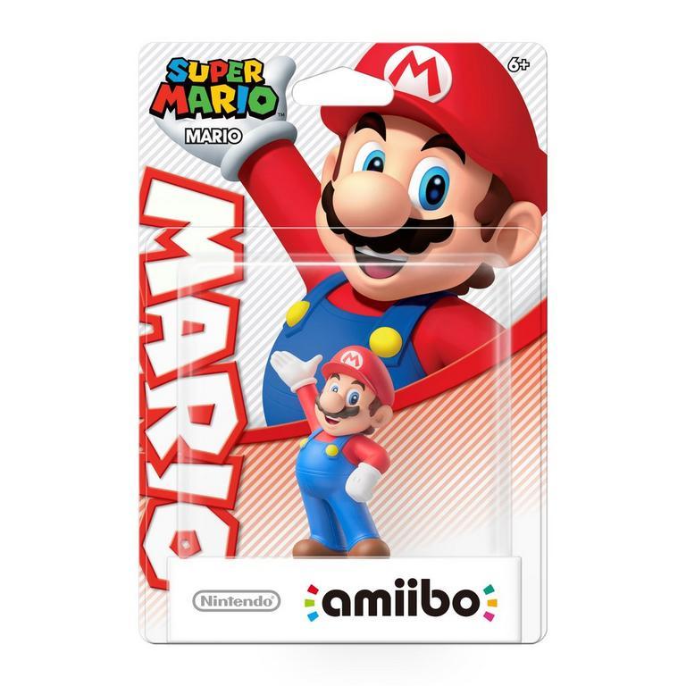 Mario Super Mario amiibo Figure