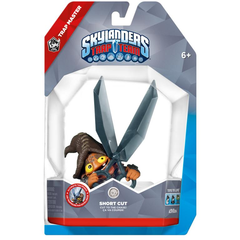 Skylanders Trap Team Short Cut Trap Master Character Pack