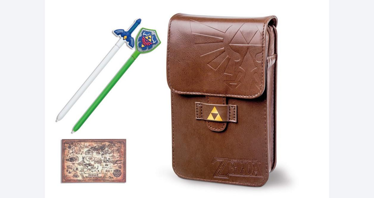Nintendo 3DS XL The Legend of Zelda Adventurers Pouch Kit