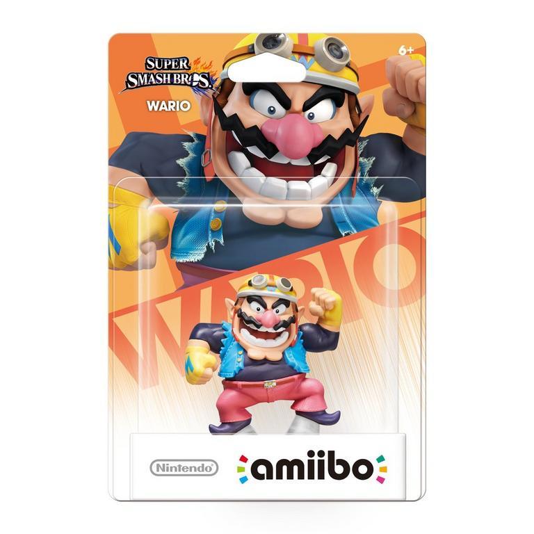 Super Smash Bros. Wario amiibo