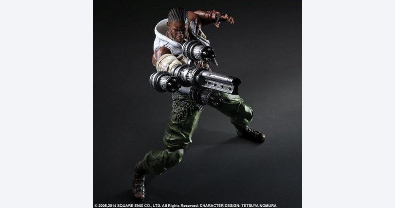 Final Fantasy VII Advent Children: Barret Play Arts Kai Figure