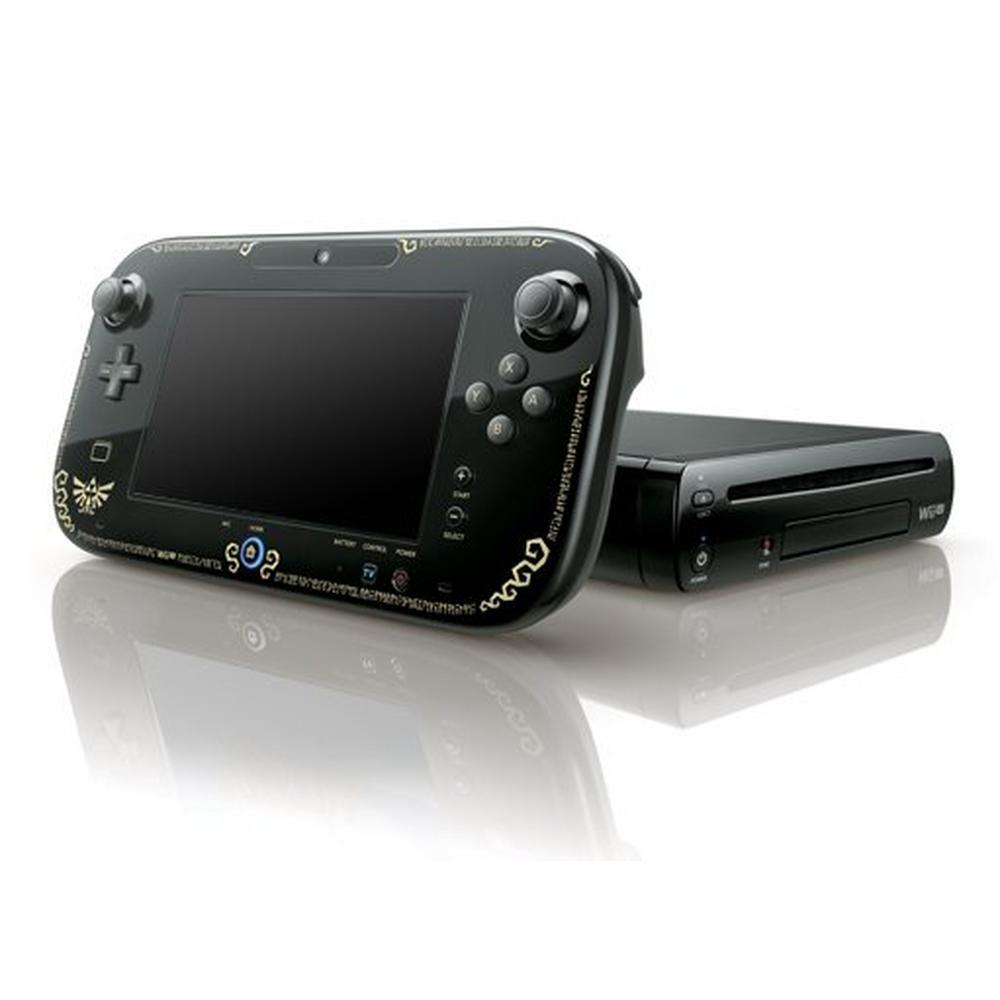 Nintendo Wii U 32GB - Legend of Zelda Black (GameStop Premium Refurbished)  | Nintendo Wii U | GameStop