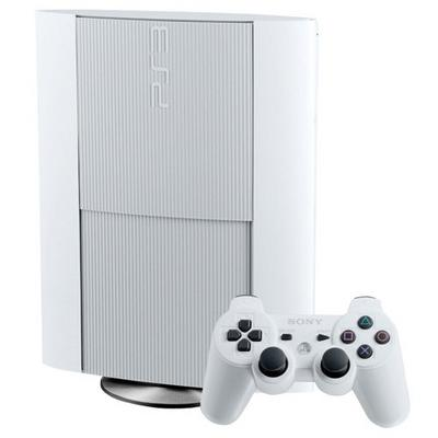 PlayStation 3 Super Slim 500GB White System