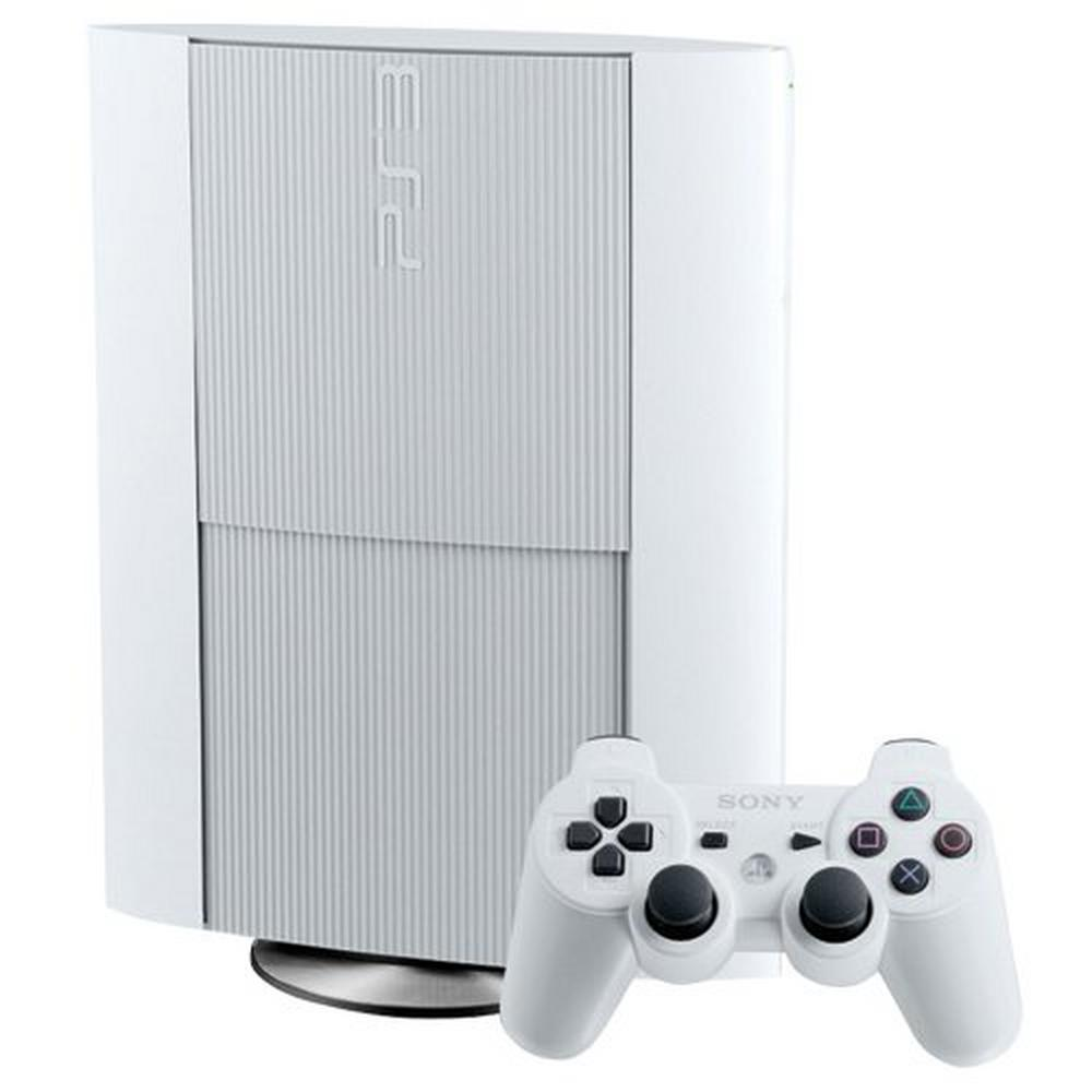 PlayStation 3 Super Slim 500GB White System | PlayStation 3 | GameStop