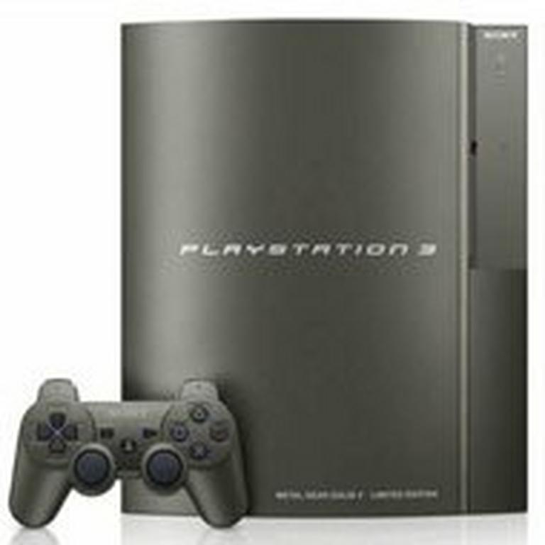 PlayStation 3 40GB System - Metal Gear Solid Grey
