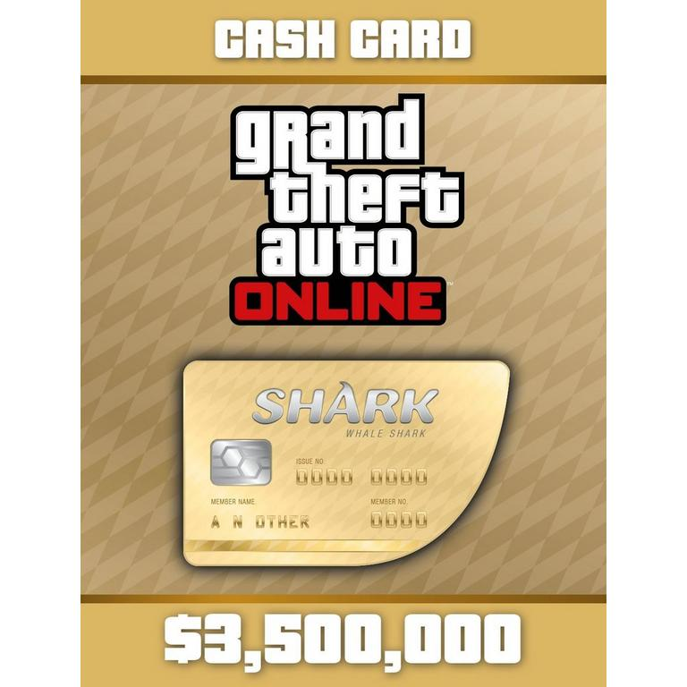 Grand Theft Auto Online: The Whale Shark Cash Card