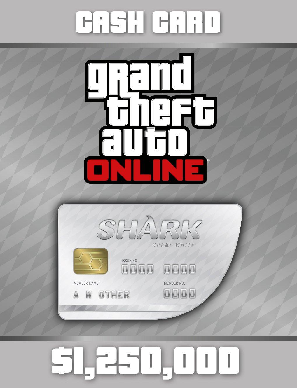 Grand Theft Auto Online: The Great White Shark Cash Card | PC | GameStop
