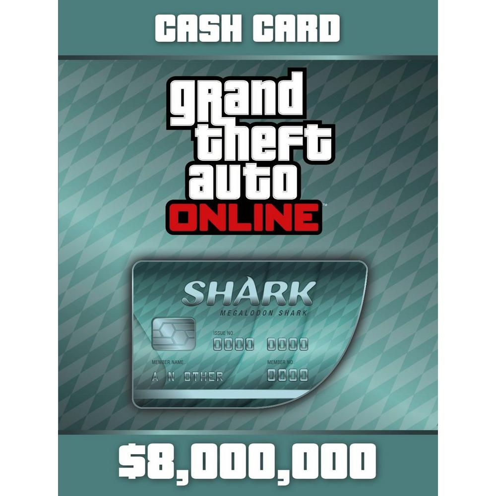Grand Theft Auto Online: The Megalodon Shark Cash Card | PC | GameStop