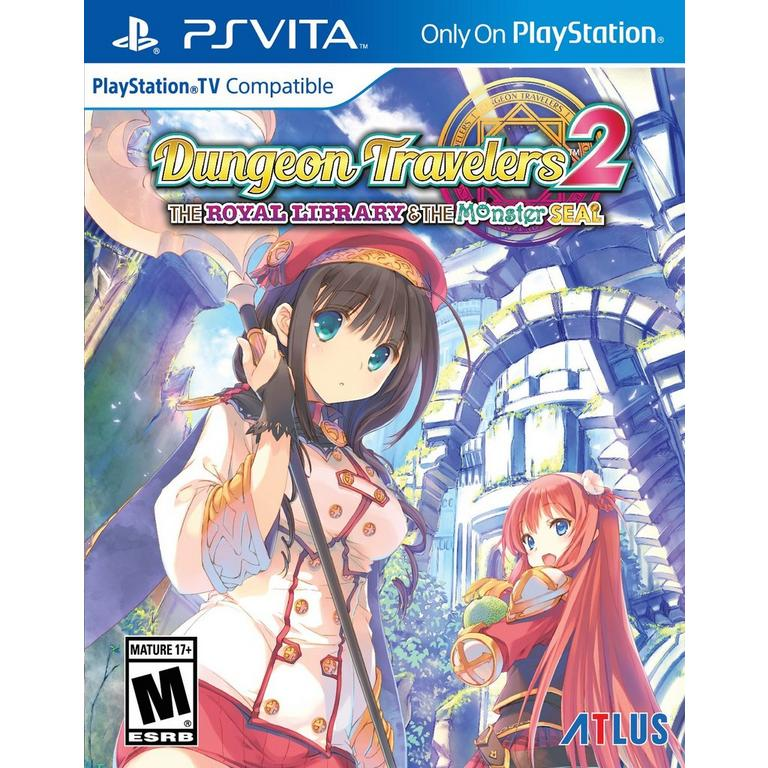Dungeon Travelers 2: The Royal Library and The Monster Seal